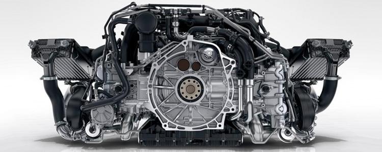 новый двигатель Porsche